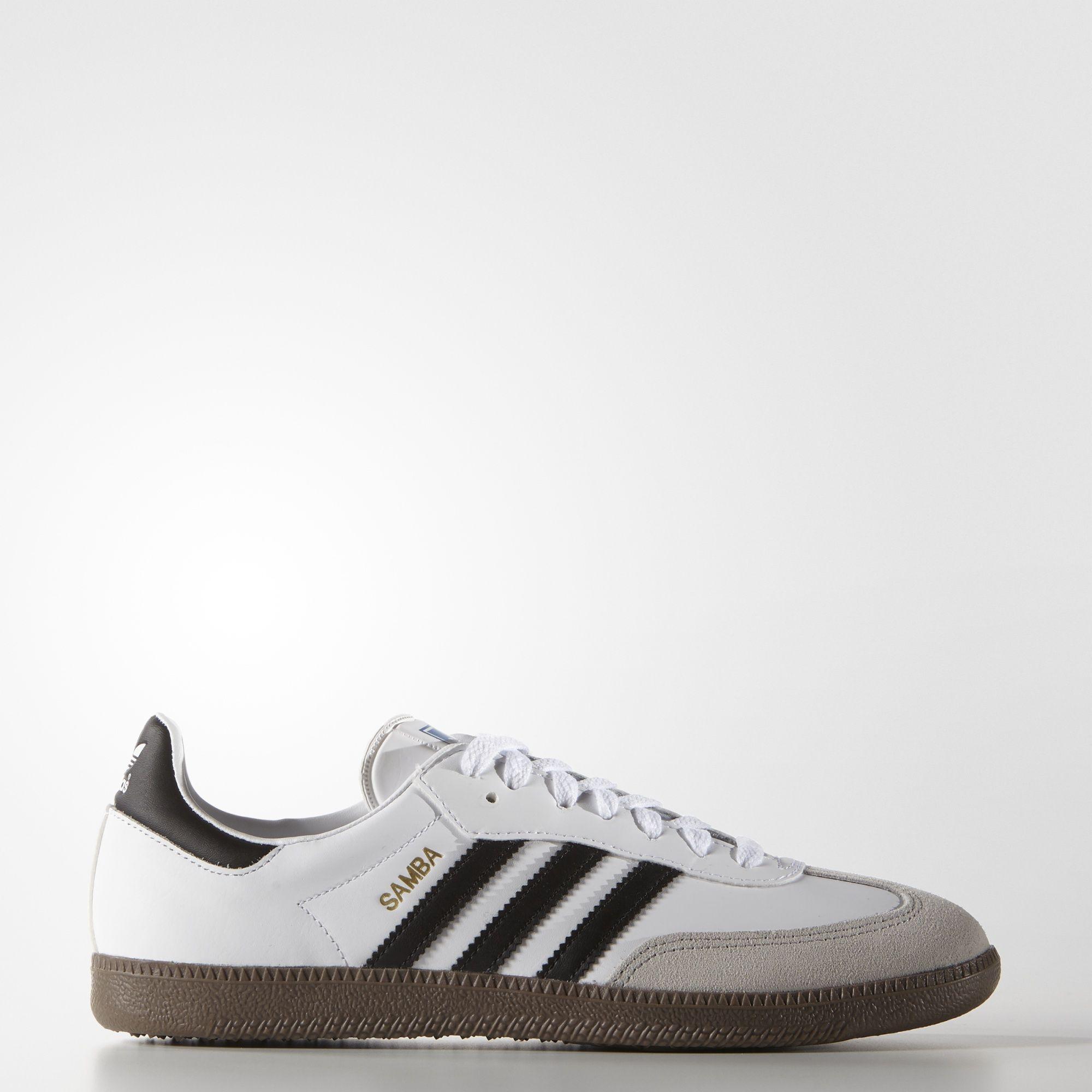 White Samba Shoes | adidas US