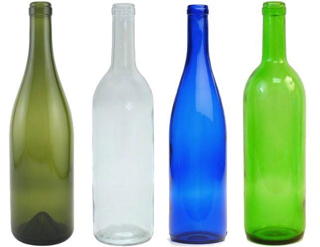 Empty glass wine bottles | ChoozOne