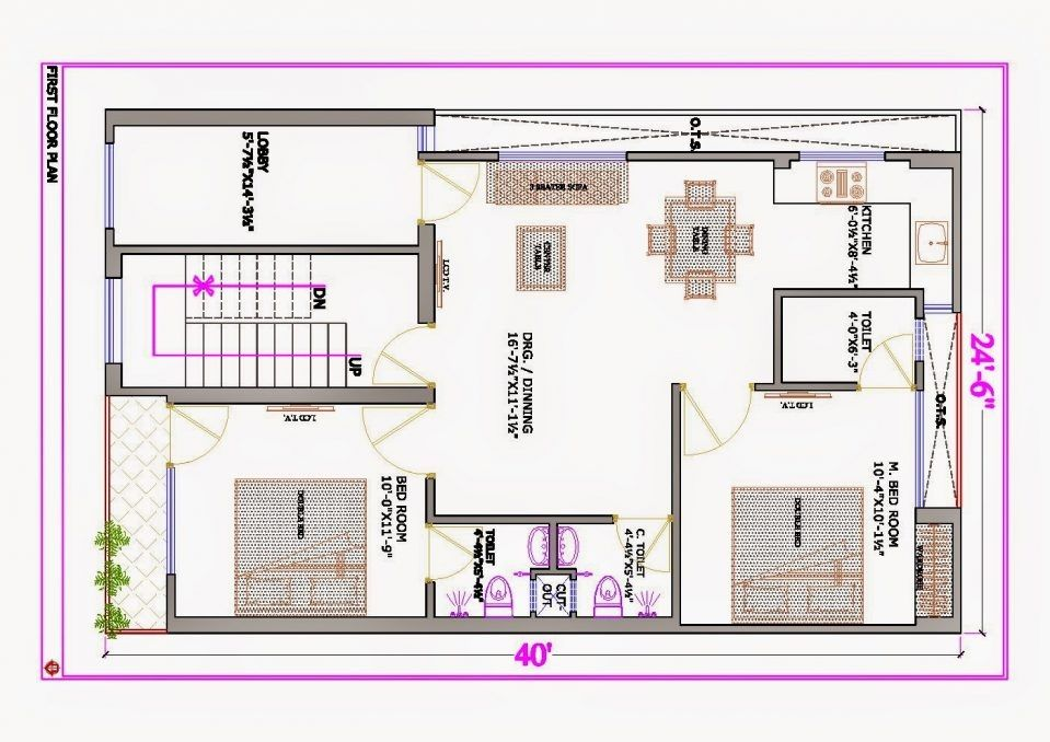 House Plan 25 X 50 New 40 X 50 Home Plans Of House Plan 25 X 50 Awesome Alijdeveloper Blog Floor Plan Of Plot S House Plans 30x40 House Plans 20x40 House Plans