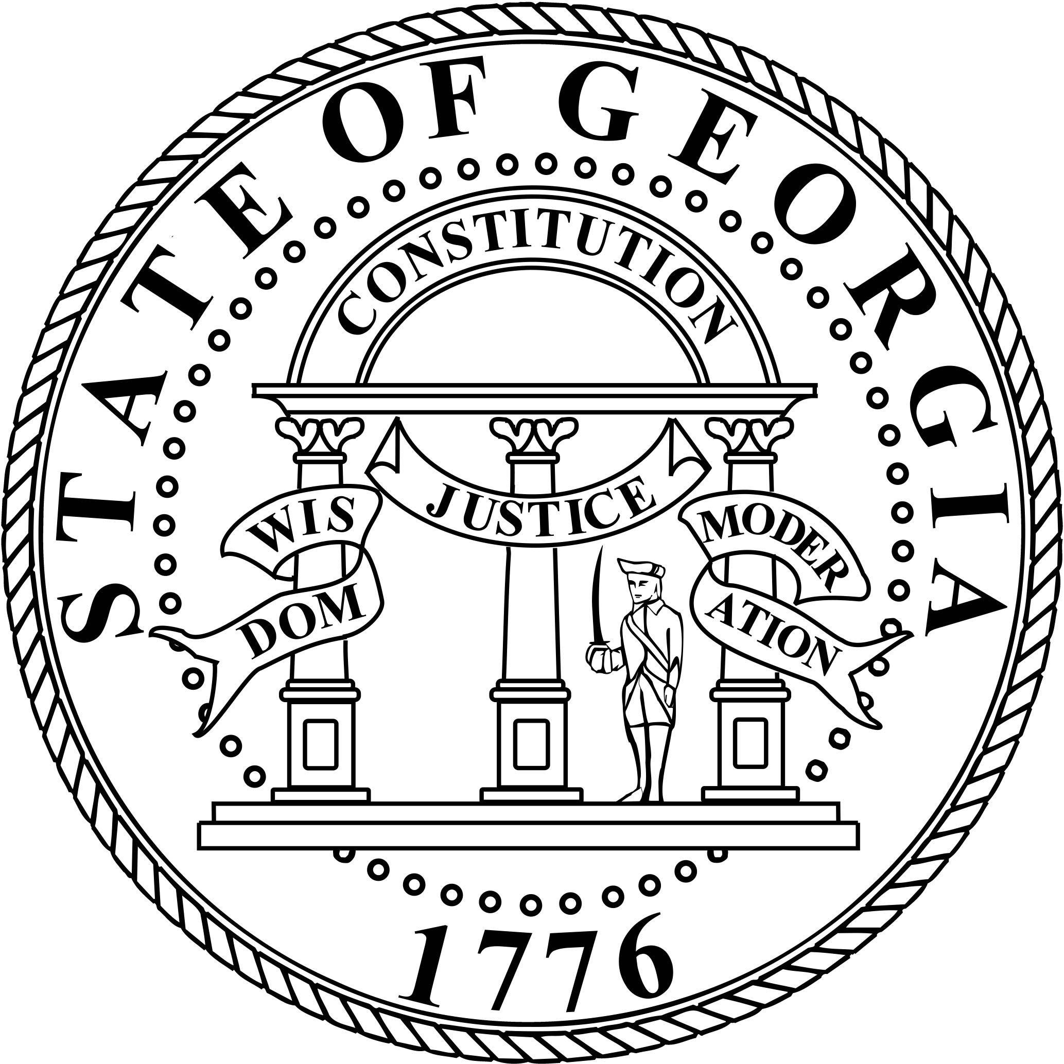 Georgia State Motto Wisdom Justice Moderation
