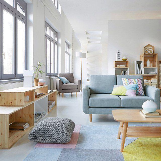 Teppich dario getuftete baumwolle 2 gr ssen la redoute interieurs 120 cm l nge 170 cm f r - Minimalistische einrichtungsideen ...