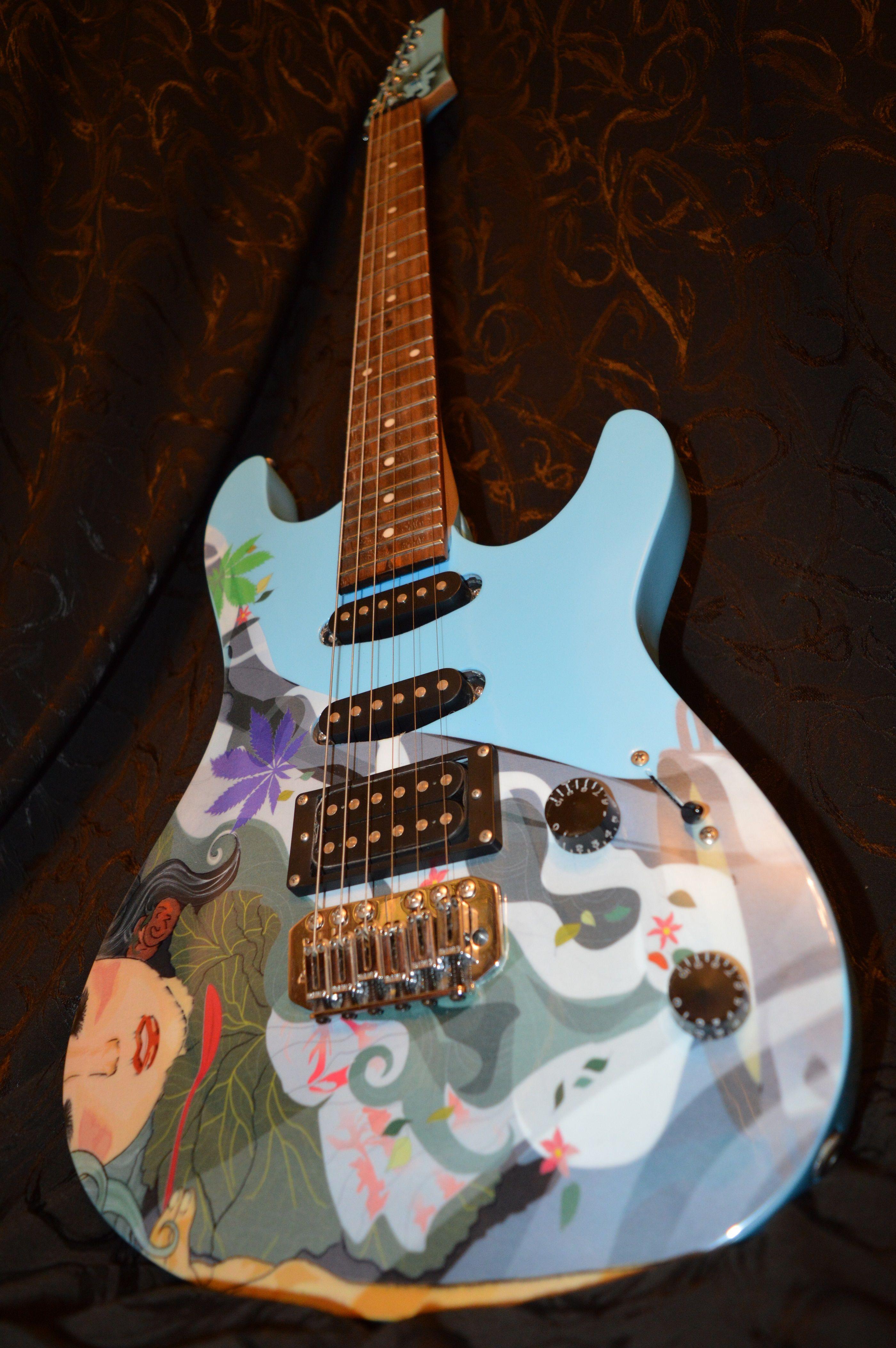 преамп для электрогитары гитары схема