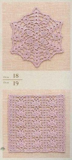 ClippedOnIssuu from Crochet lacework 18, 19 | Blondas Rosario ...