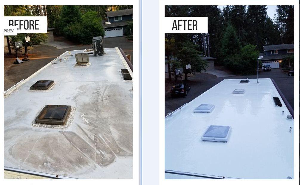 The Ultimate Camper Roof Coating Guide Roof Coating Roof Camper