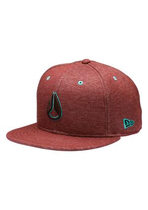 High 5 New Era Hat - Burgundy Heather  1d9c31f7135f