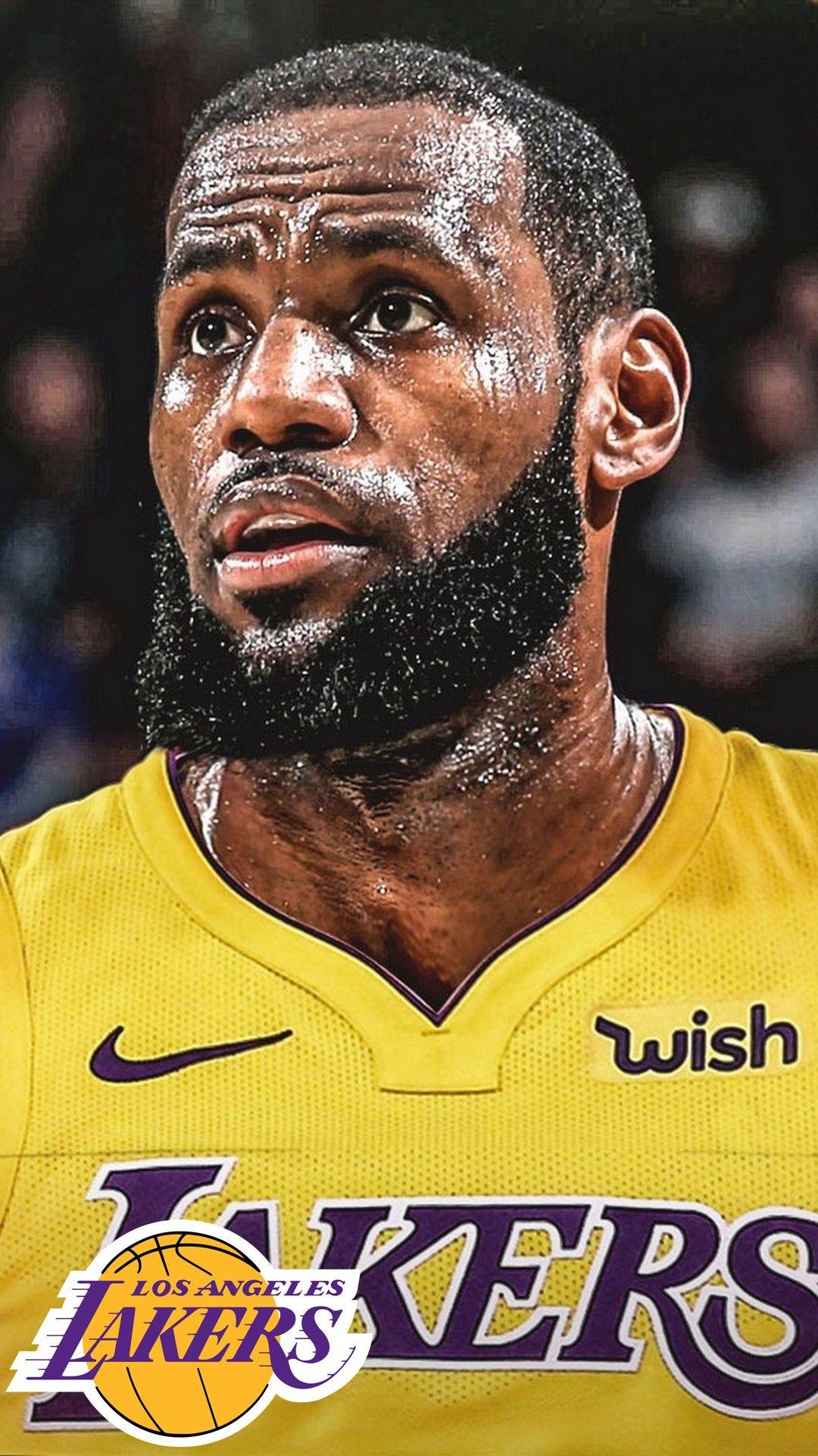 LA Lakers LeBron James iPhone 7 Plus Wallpaper Iphone 7