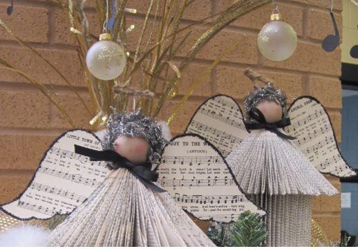 Cómo hacer #ángel de #Navidad con #papel de #periódico paso a paso #HOWTO #DIY…
