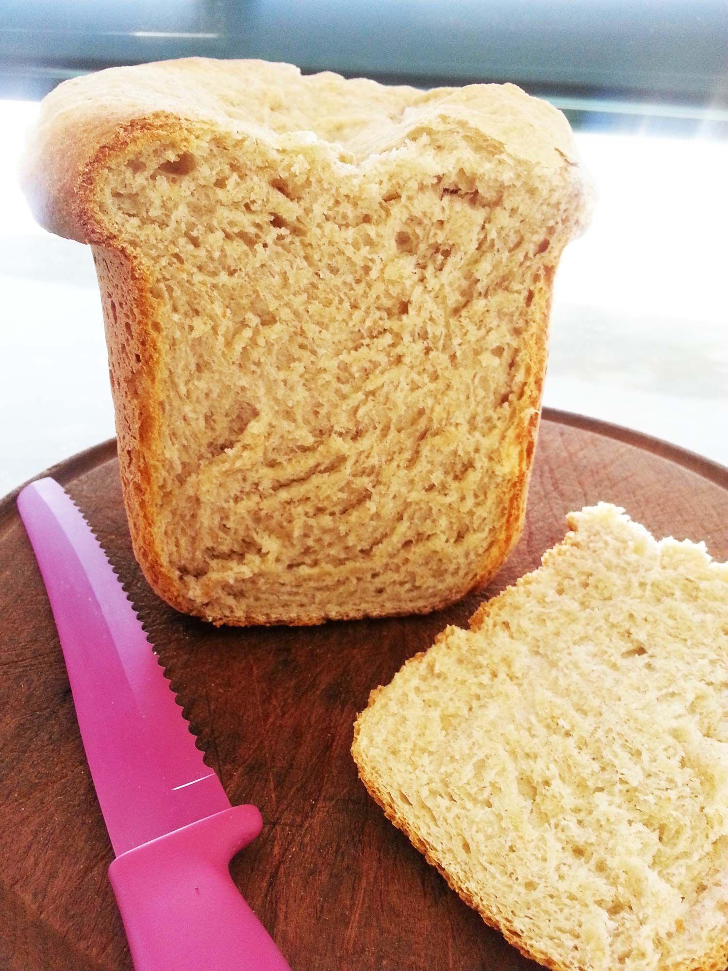 Receta de pan lactal integral casero