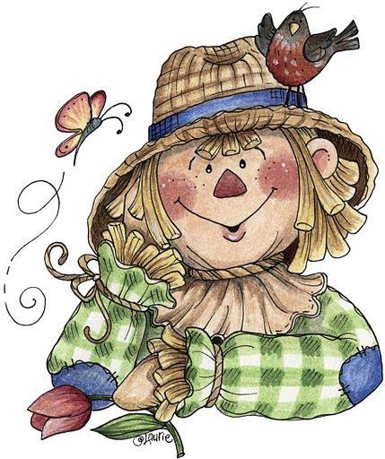 Picasa Web Albums Siete Colores Espantapajaros Fall Clip Art Autumn Art Scarecrow