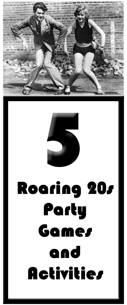 5 unique Roaring 20s theme party games and activities