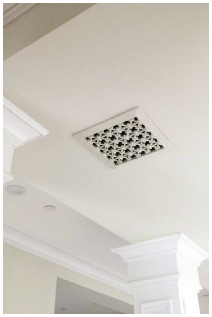 iron ring vent cover bathroom fan