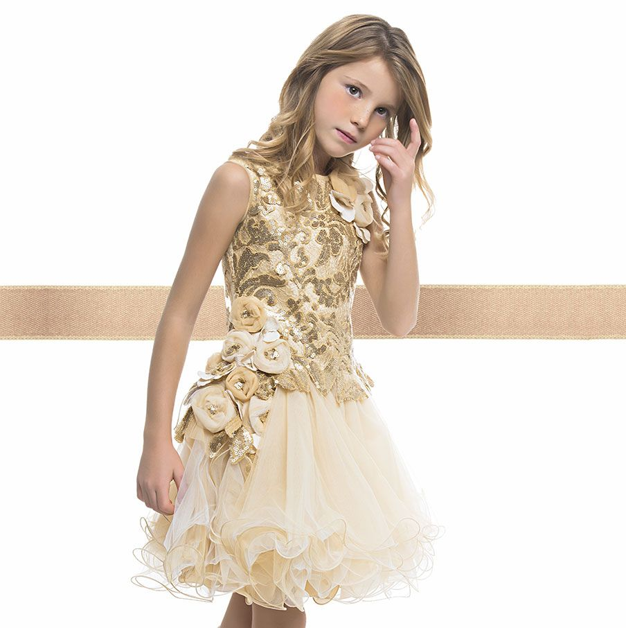 A Charming Sleeveless Dress From Our Luxury- 50th