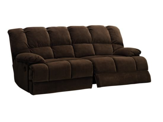 Sensational Boston Chocolate Dual Reclining Sofa American Signature Gmtry Best Dining Table And Chair Ideas Images Gmtryco