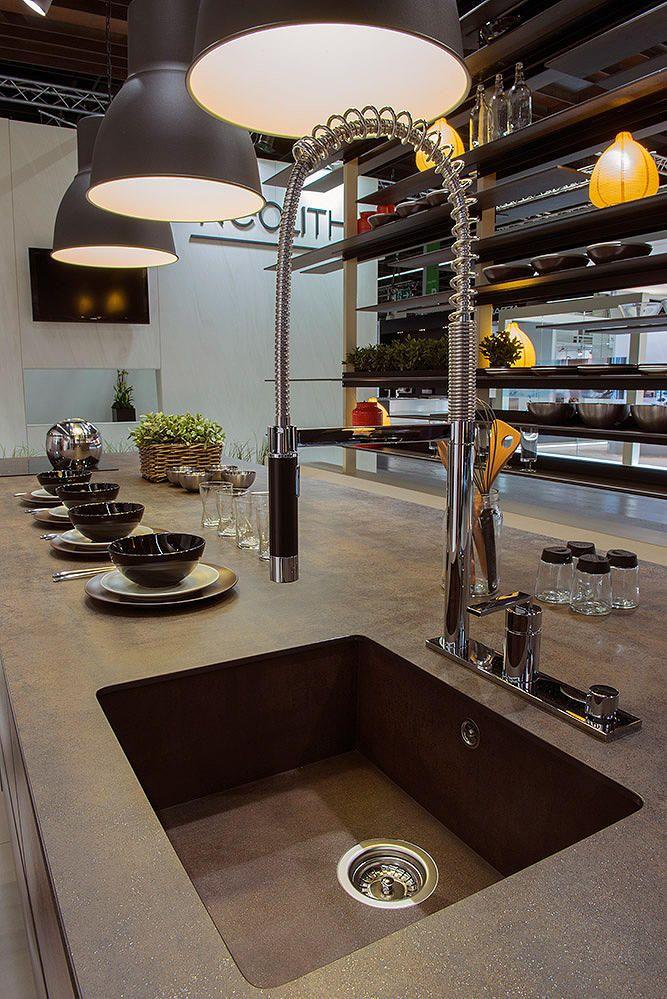Plan de travail cuisine granit silestone espagne - Renover plan de travail cuisine carrele ...