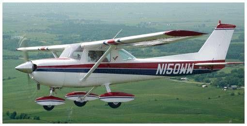 Cessna 150 flight characteristics