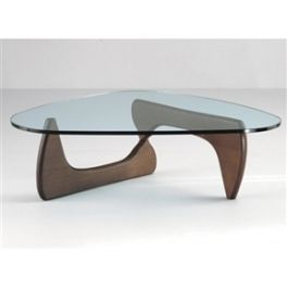 Delightful Tribeca Modern Classic Japanese Style Coffee Table In Walnut Finish