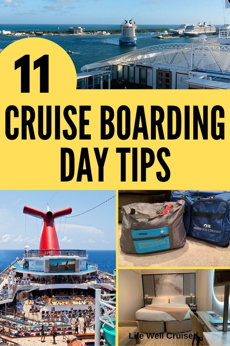 11 Cruise Boarding Tips You Need to Know (With images