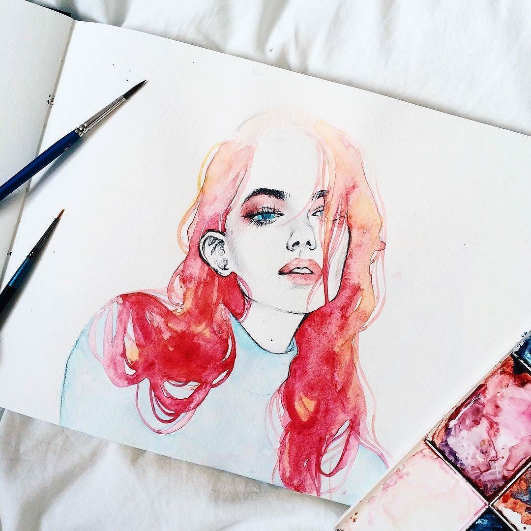 Amazing illustration by kelogsloops creame on for Minimal art instagram