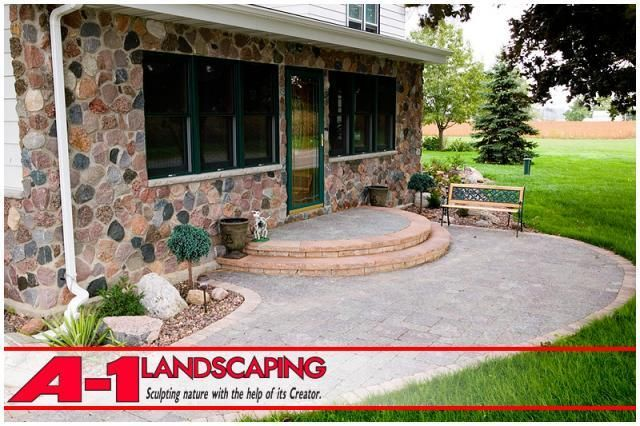 A1 Landscaping Retaining Wall Design Patio Landscape 640 x 480