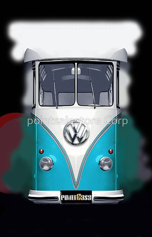 Blue Volkswagen VW iphone 5, iphone 4 4s, iPhone 3Gs, iPod Touch 4g case by pointsalestore Corp