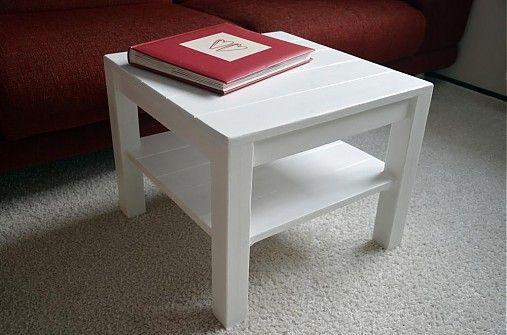 Konferenčný stolík ARAMIS mini biely  by mimimik - SAShE.sk - Handmade Nábytok