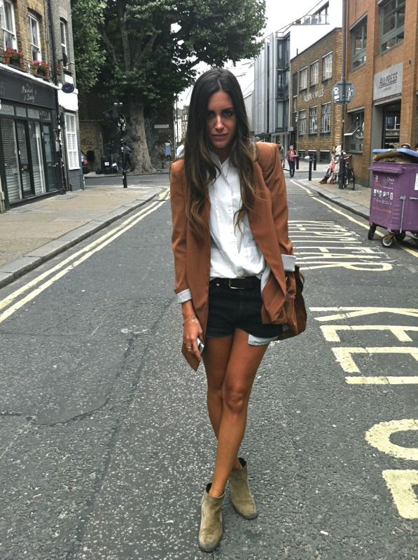 blazer and boots!
