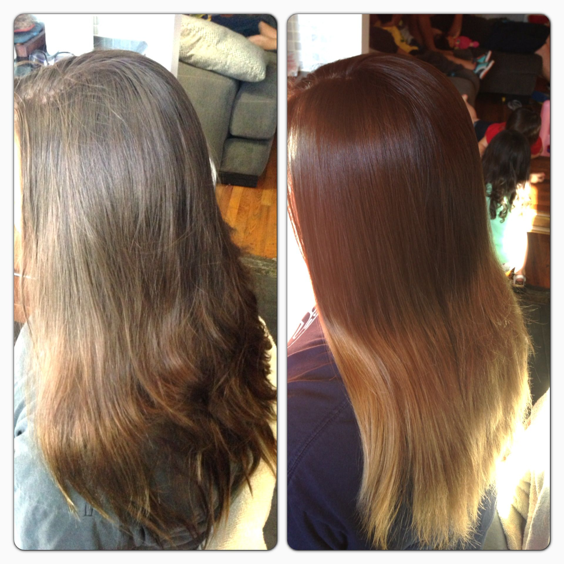 My Cousins Lovely Ombr For Summer Top Color Is Argan Oil Hair