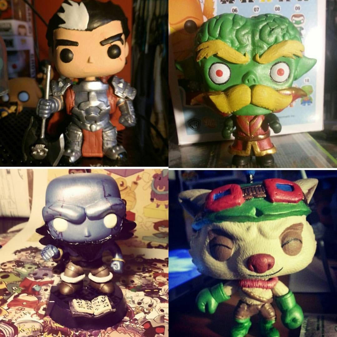 My 4 League Of Legends Customs I Made I Would Love To Make