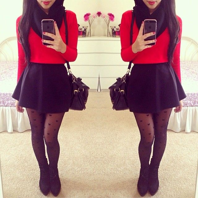 Christmas Outfits Ideas For Parties Part - 42: Clothes Casual Outift For Teens Movies Girls Women Summer Fall Spring  Winter Outfit Ideas Dates School Parties Mint Cute Sexy Ethnic Skirt