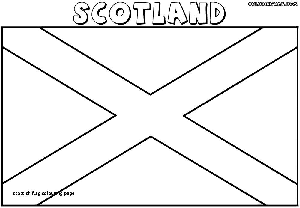 Image Result For Scotland Colouring Pages Flag Coloring Pages