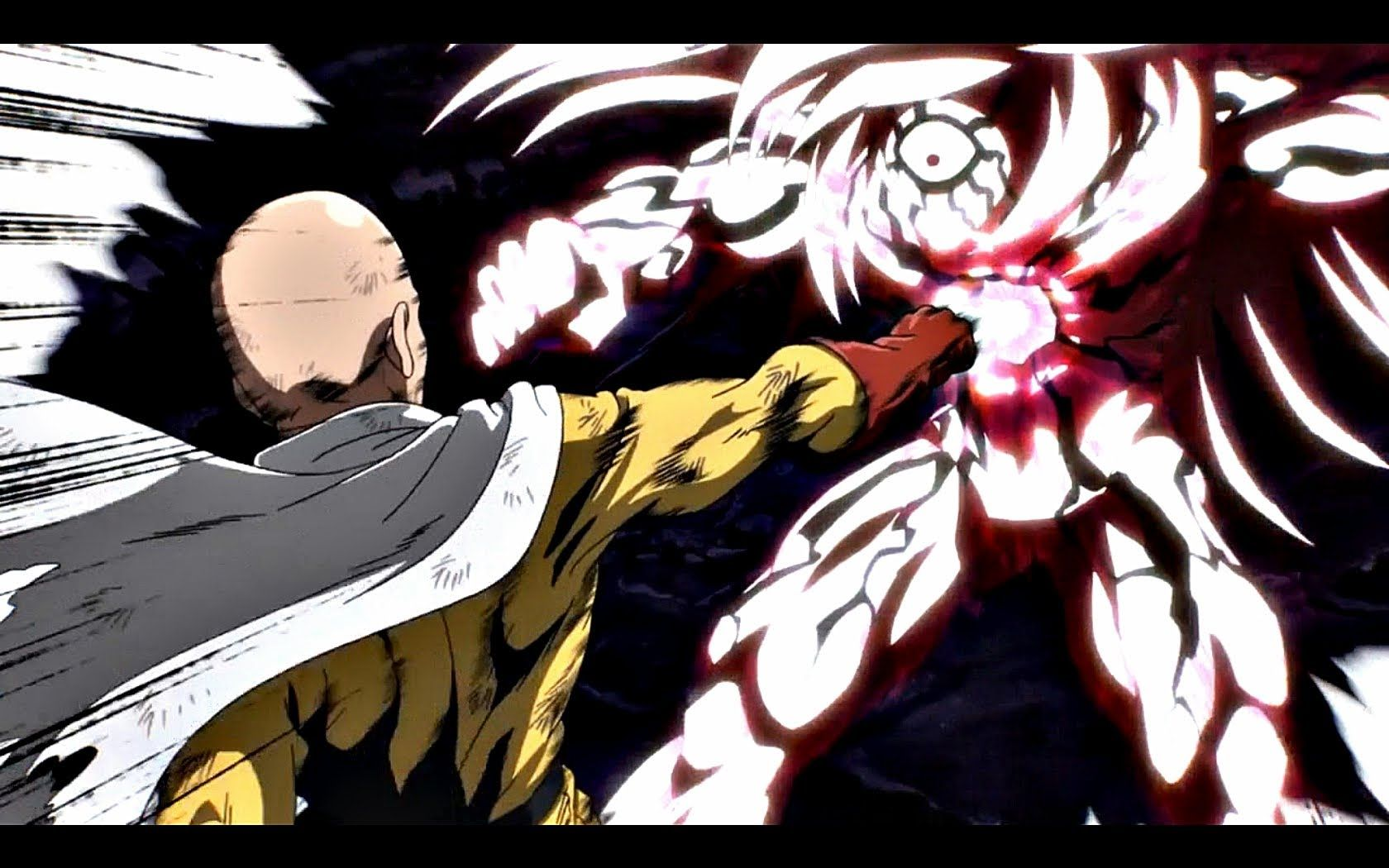 One punch man ワンパンマン episode 12 review saitama vs lord boros finale