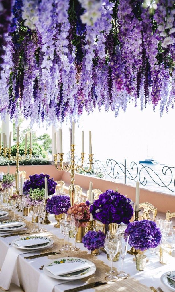 This Positano Is Over The Top Amazing Wedding Reception Style
