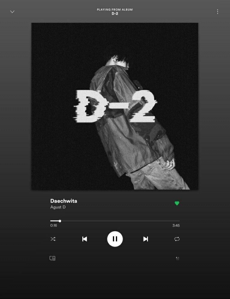D-2 Daechwita in 2020 | Bts playlist, Bts aesthetic pictures, Album bts