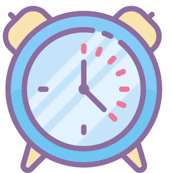 Clock Icons In Cute Color Style For Graphic Design And User Interfaces In 2020 App Icon Iphone Icon Cute App