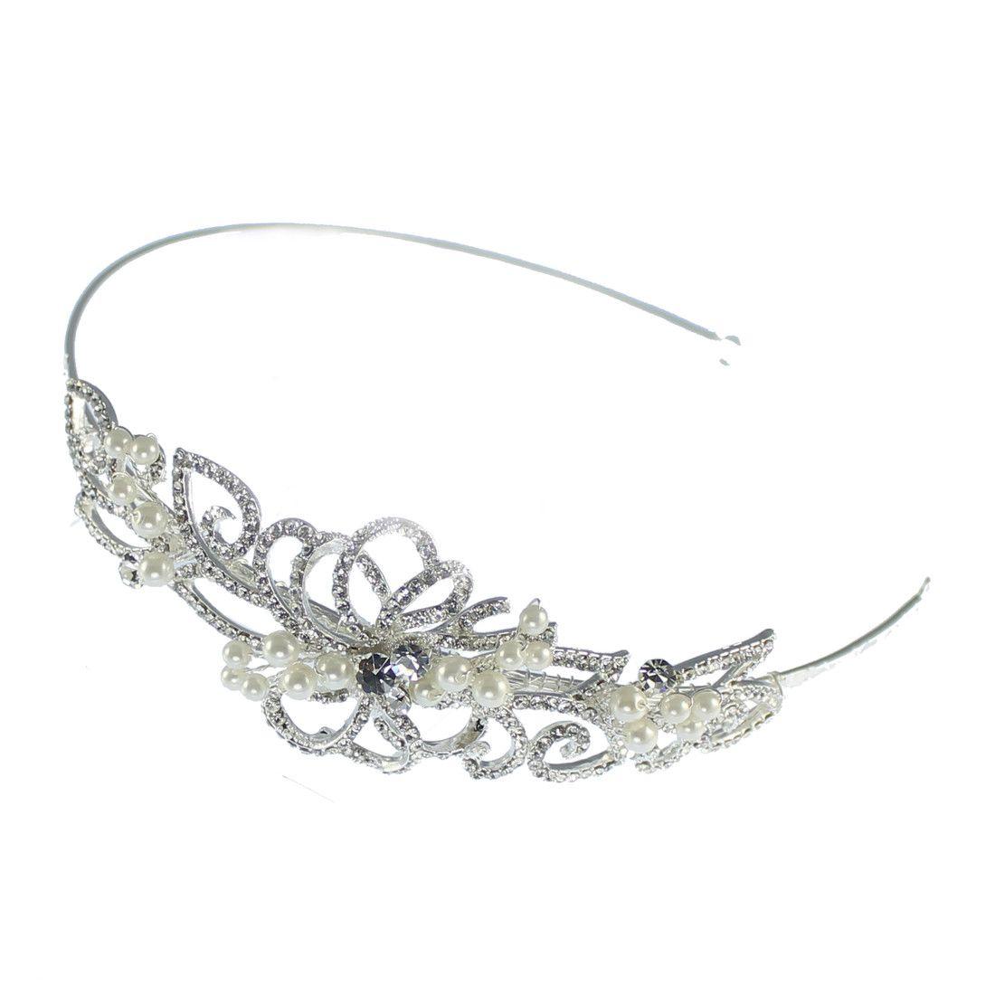 Linzi Jay Headband LT595 Www.angelbrides.co.uk