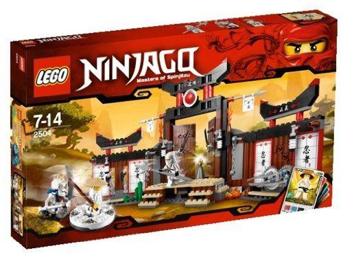 lego ninjago 2504 jeu de construction le temple dentranement - Jeux De Lego Ninjago Spinjitzu