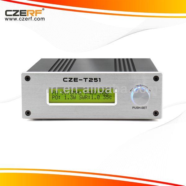 CZE-T251 25W tube amplifier Stereo PLL FM Transmitter Kits