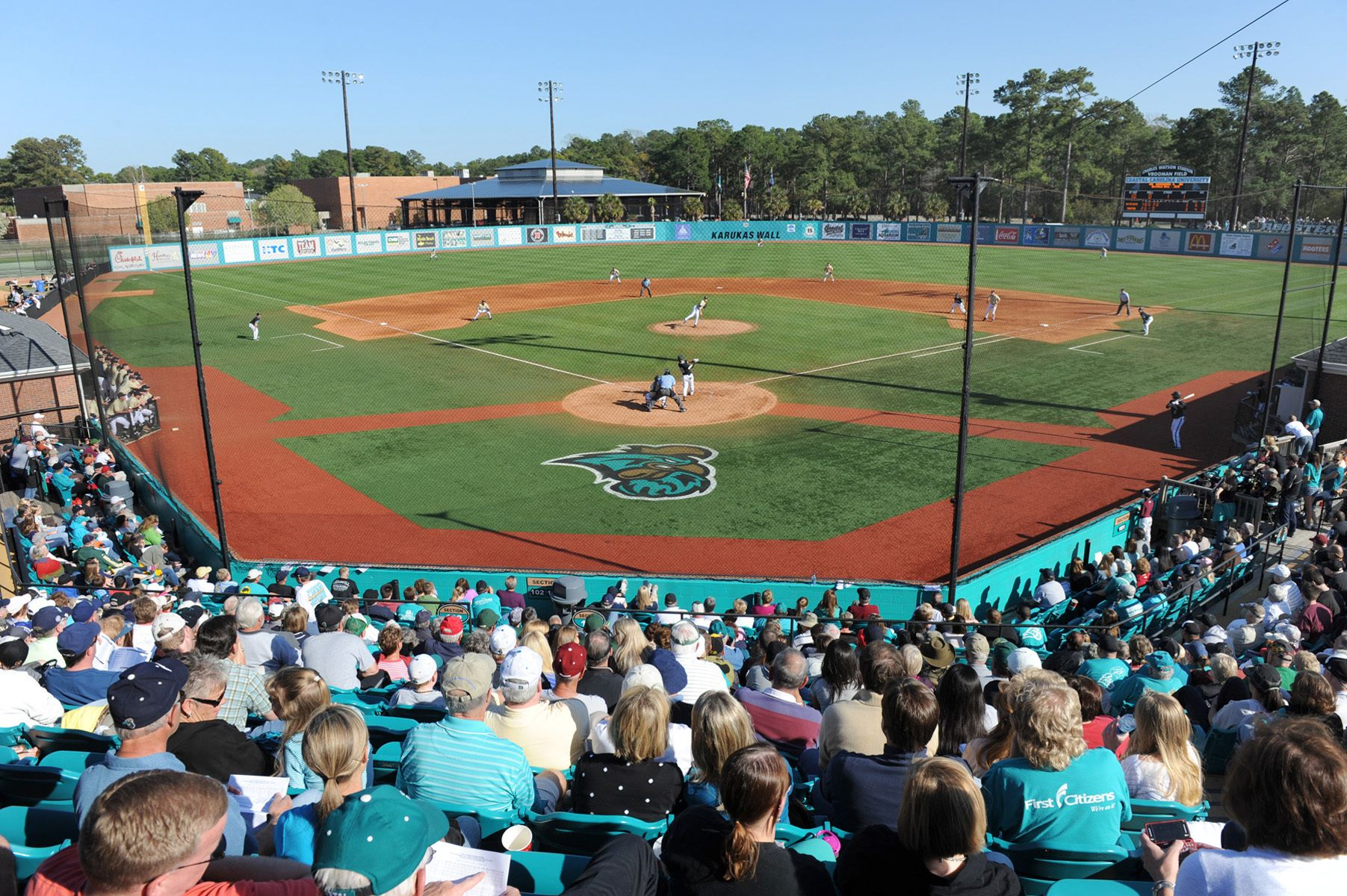 Coastal Carolina Official Athletic Site Facilities Coastal Carolina Coastal Carolina University Coastal