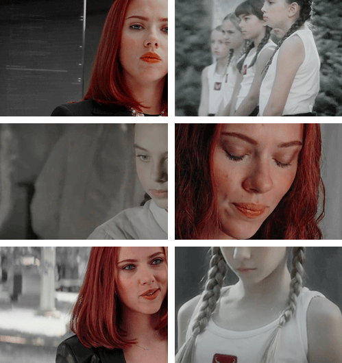 Black Widow: For with everything you are, you're just a little girl.