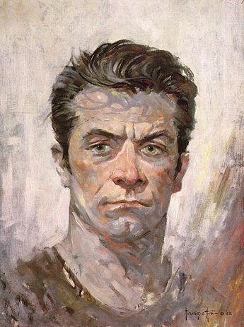 American fantasy and science fiction artist Frank Frazetta 1928 – 2010) - Self Portrait