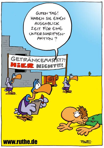 Sehr Lustiger Cartoon Von Ralph Ruthe De Hwg Cartoons Cartoon