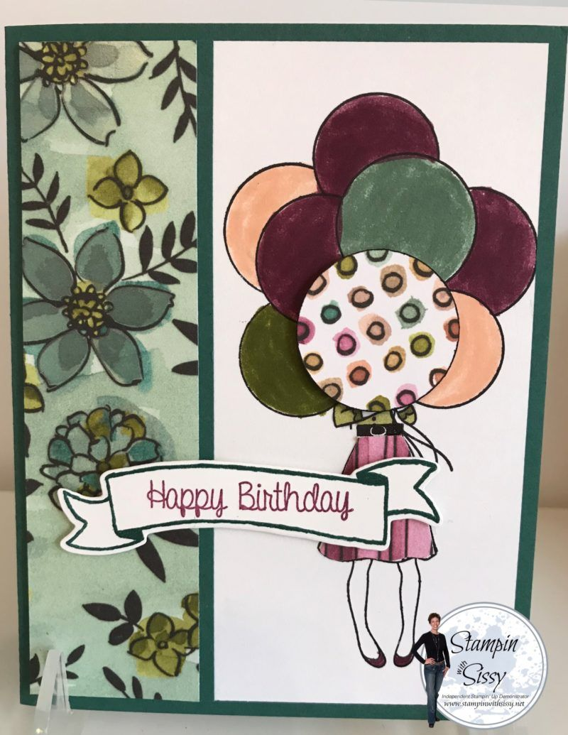 DIY Birthday Card Stampin Ups Share What You Love Paper And Hand Delivered Stamp Set Demonstrator Business Web Site DBWS For Up Products