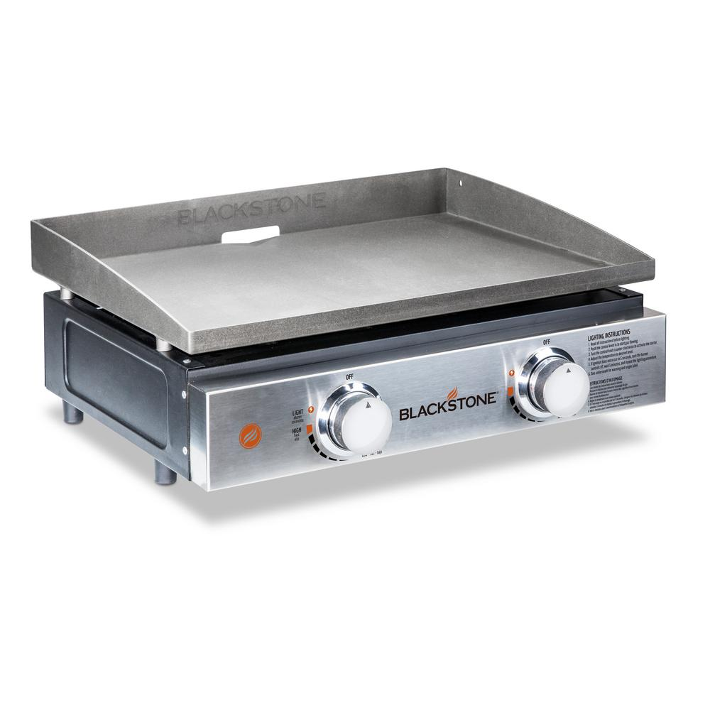 Blackstone 22 In 2 Burner Propane Gas Table Top Griddle In