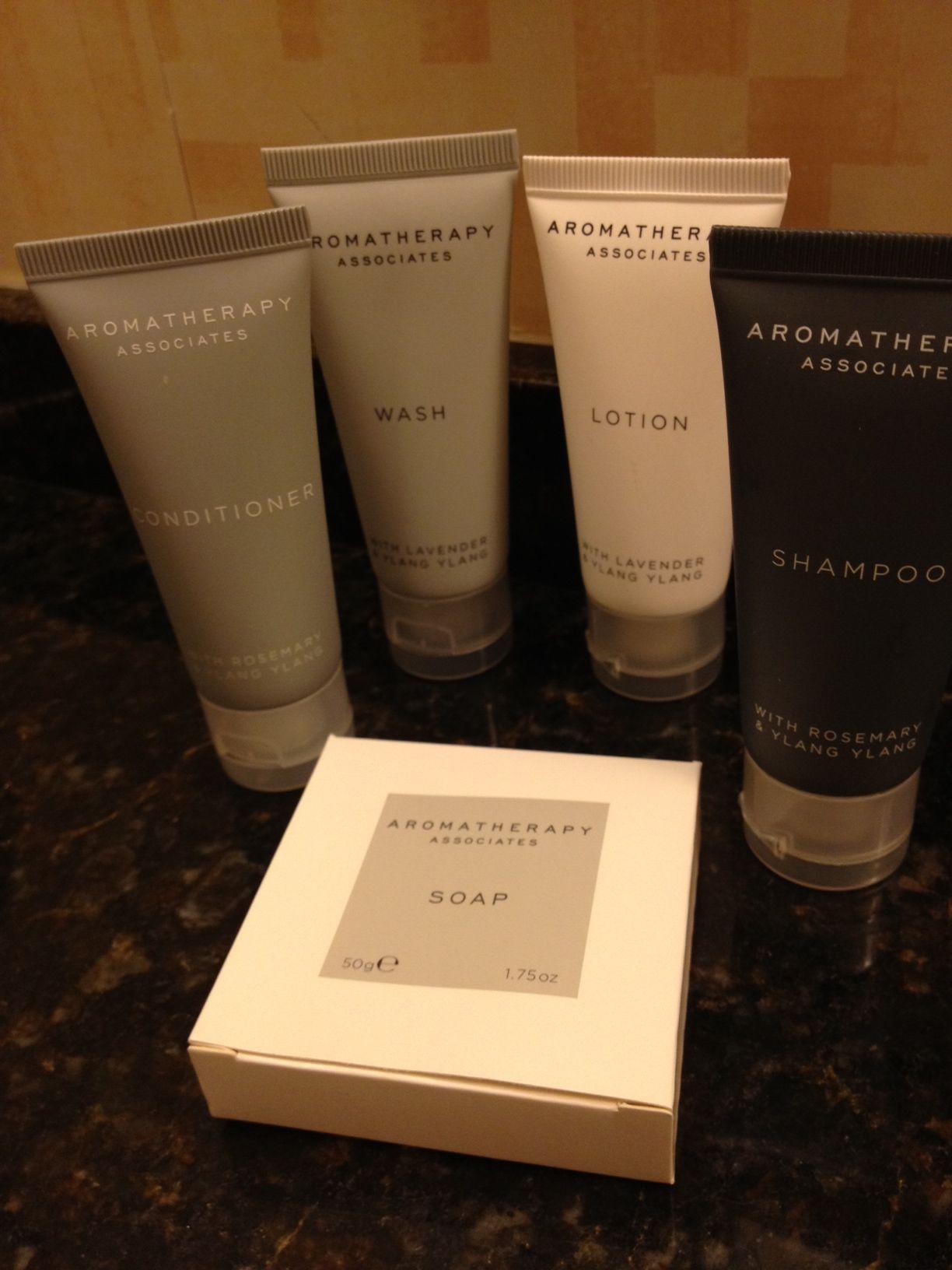 Jw Marriott S New Shampoo Conditioner Etc Brand Aromatherapy