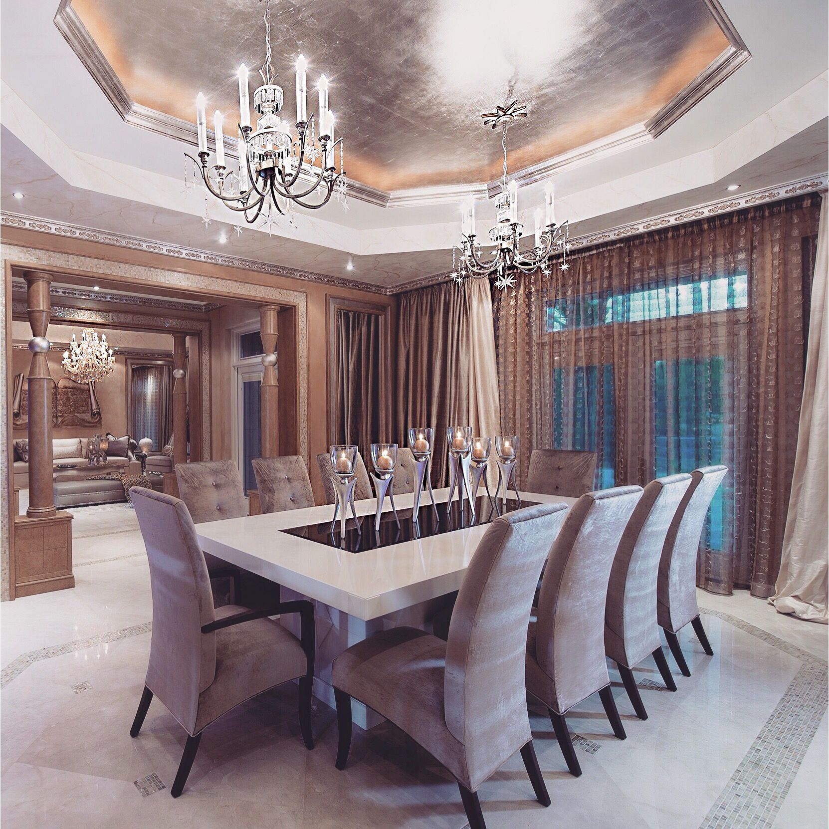 Pinterest Amatilhadelobos Dream House Rooms Luxury Dining Room House Interior
