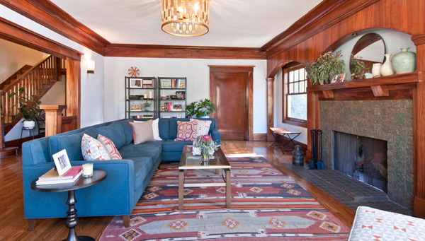 Explore Living Room Blue Eclectic And More Kilim Rug