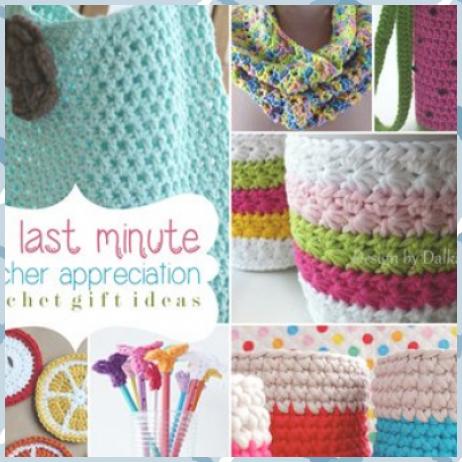 10 Last Minute Teacher Appreciation Crochet Gift Ideas #Appreciation #crochet #gift #ideas #Minute #Teacher