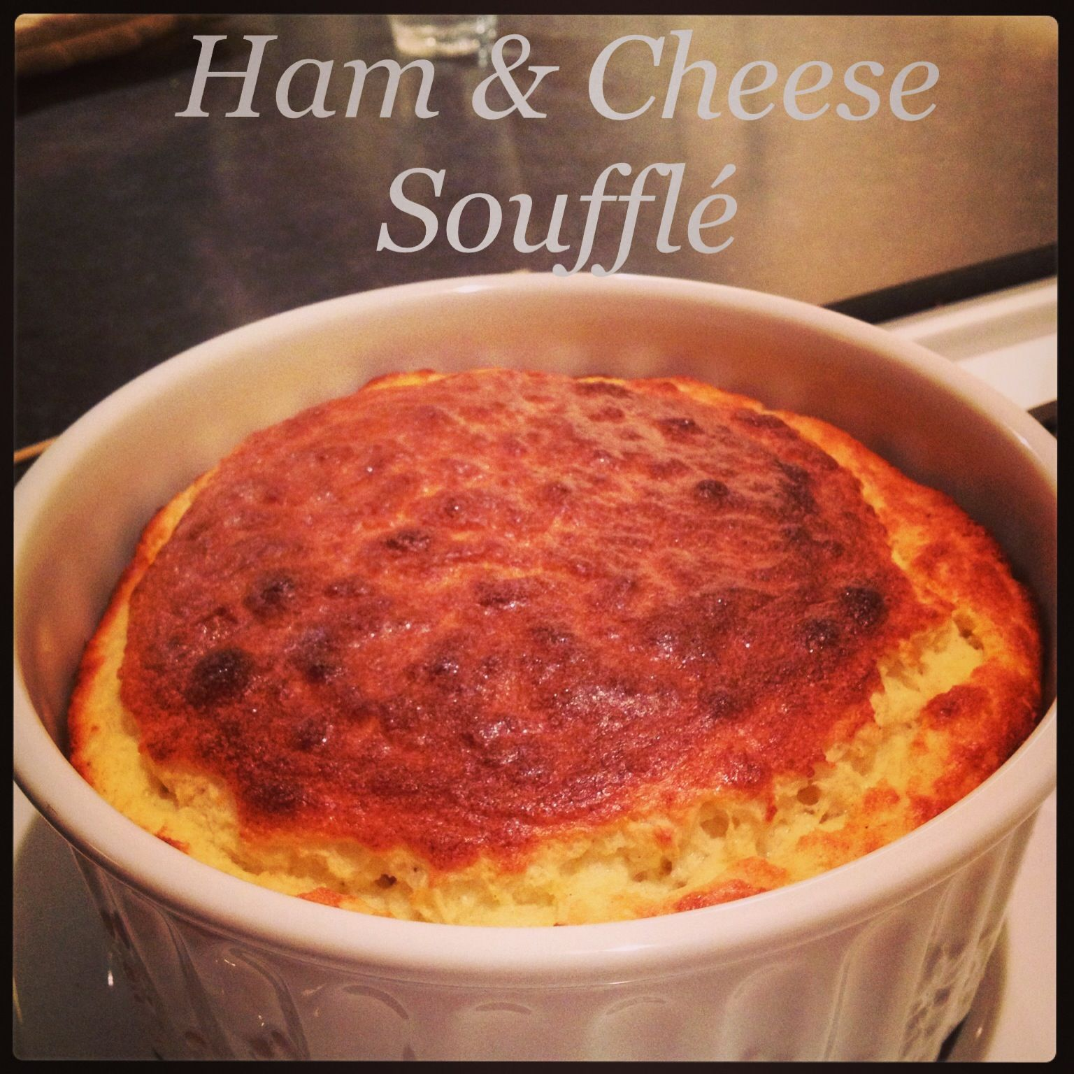 Ham and Cheese Soufflé, with foolproof tips!