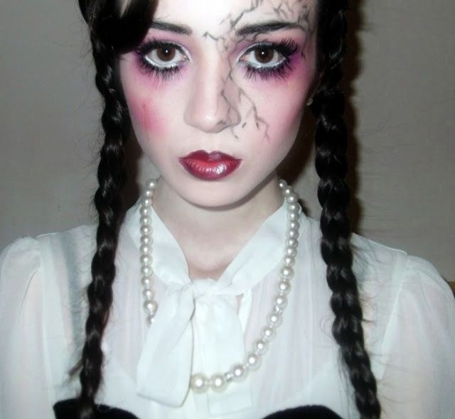 porcelain doll costume makeup google search