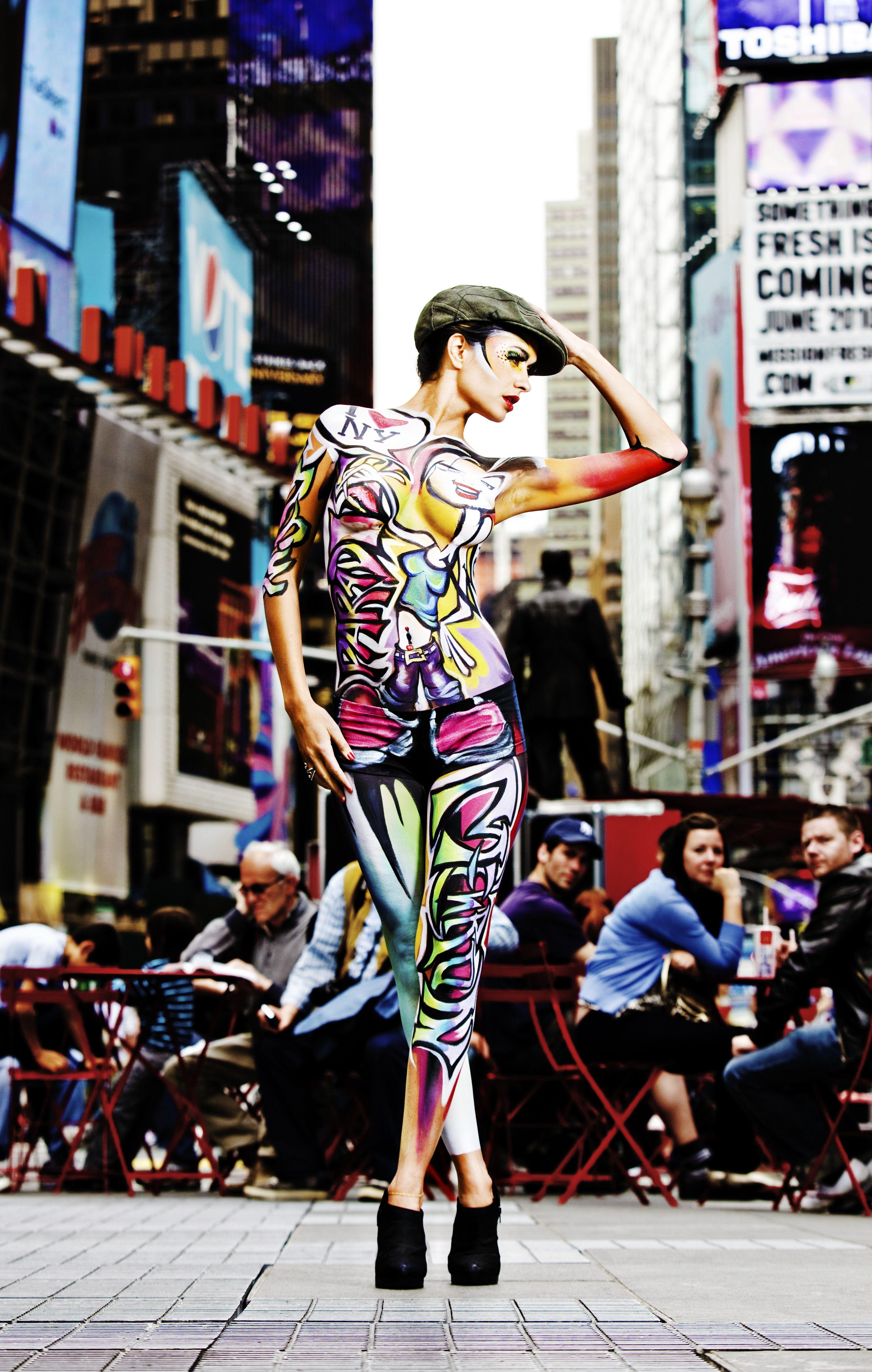 Jinny New York Paradise Makeup Aq Body Painting Body
